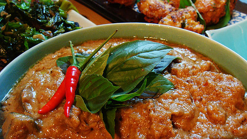 Beef Panaeng by The Grubworm