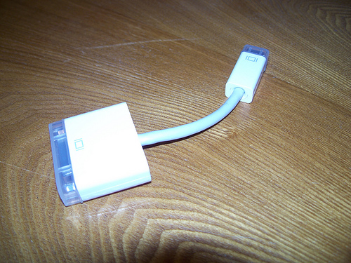 Mini-DVI to DVI Adapter
